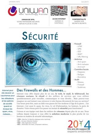 Présentation activité sécurité - uniwan.be